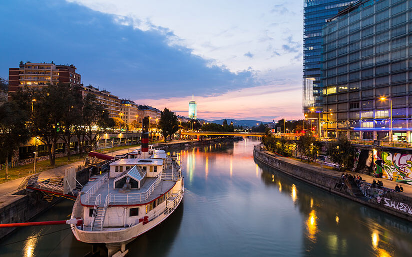 Vienna By Boat Daytime And Nighttime Boat Cruises On The Danube