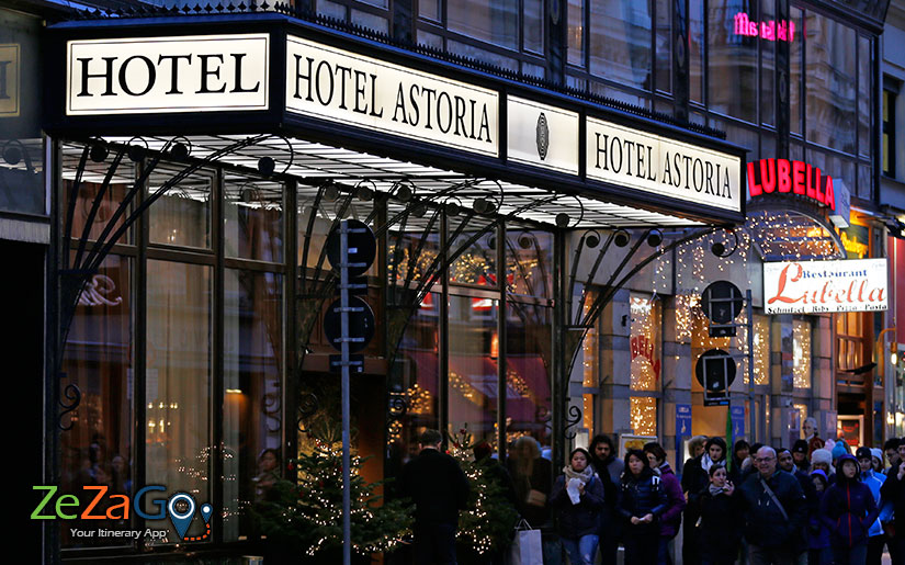 Hotel Astoria Vienna in the First District