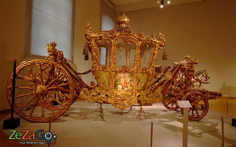 Imperial Carriage Museum in Schonbrunn Palace
