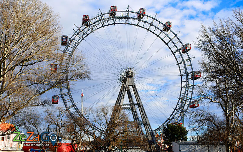 Image result for Great Ferris Wheel Vienna