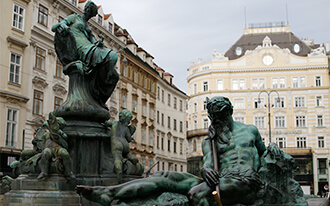 Squares in Vienna