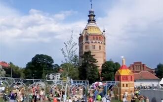 Wasserspielplatz Wasserturm