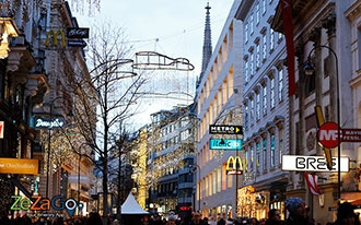 Shopping Streets in Vienna